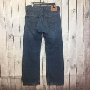 Levis 569 Blue Jeans Mens 32x32 Loose Straight